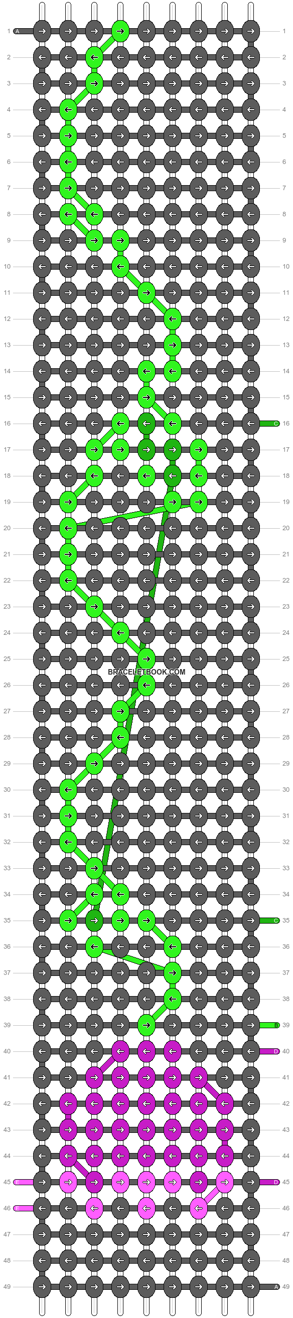 Alpha pattern #97891 pattern