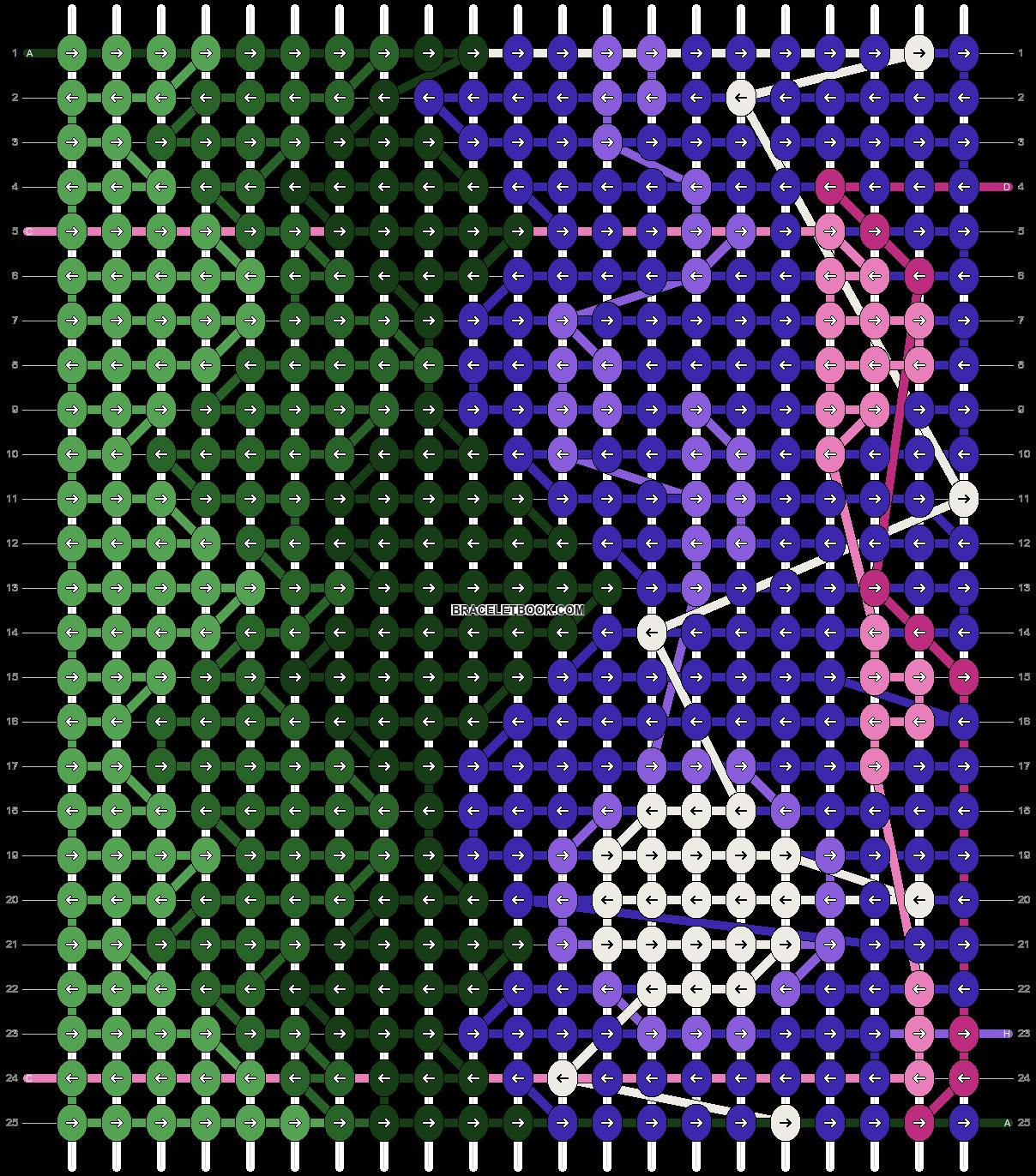 Alpha pattern #97977 pattern