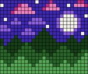 Alpha pattern #97977