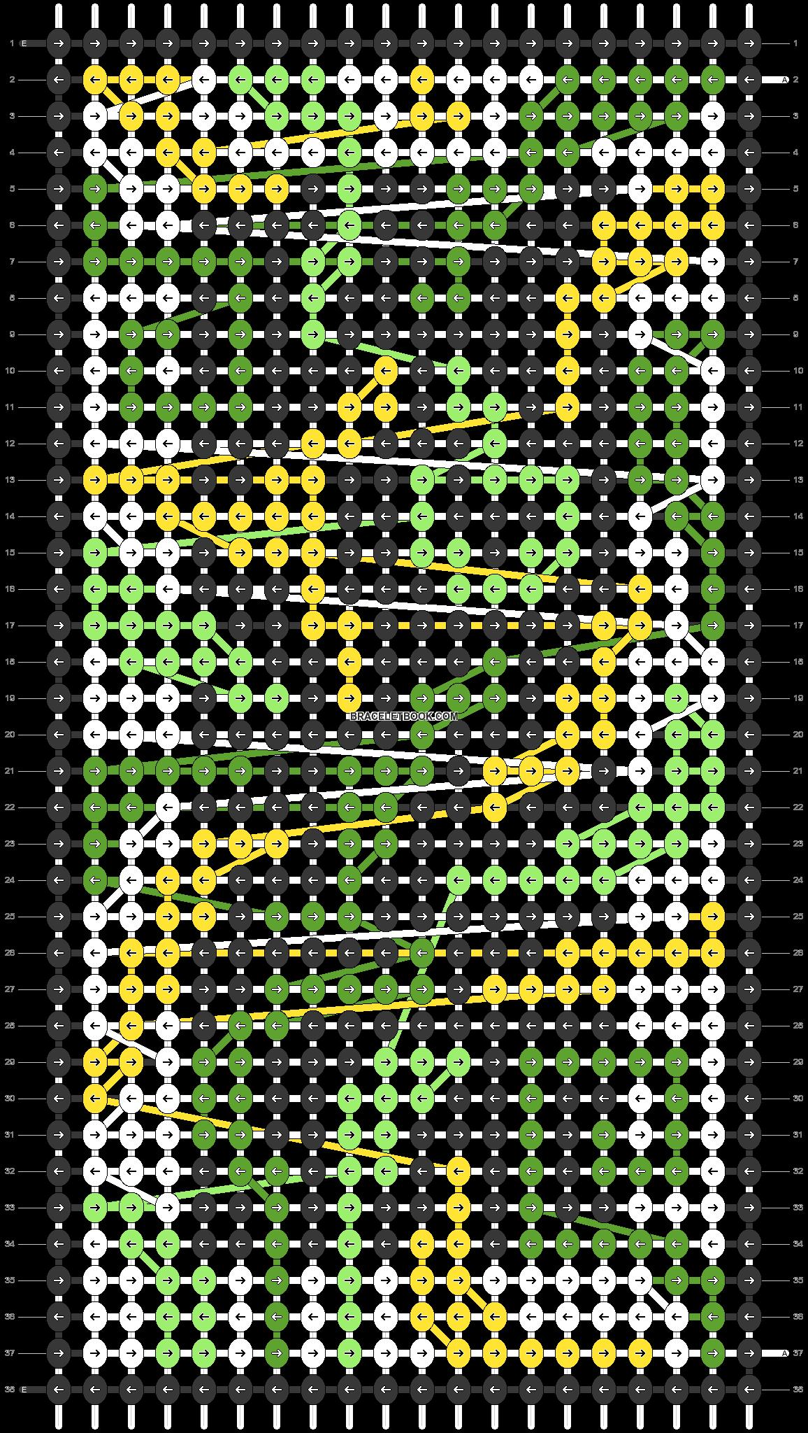 Alpha pattern #97989 pattern