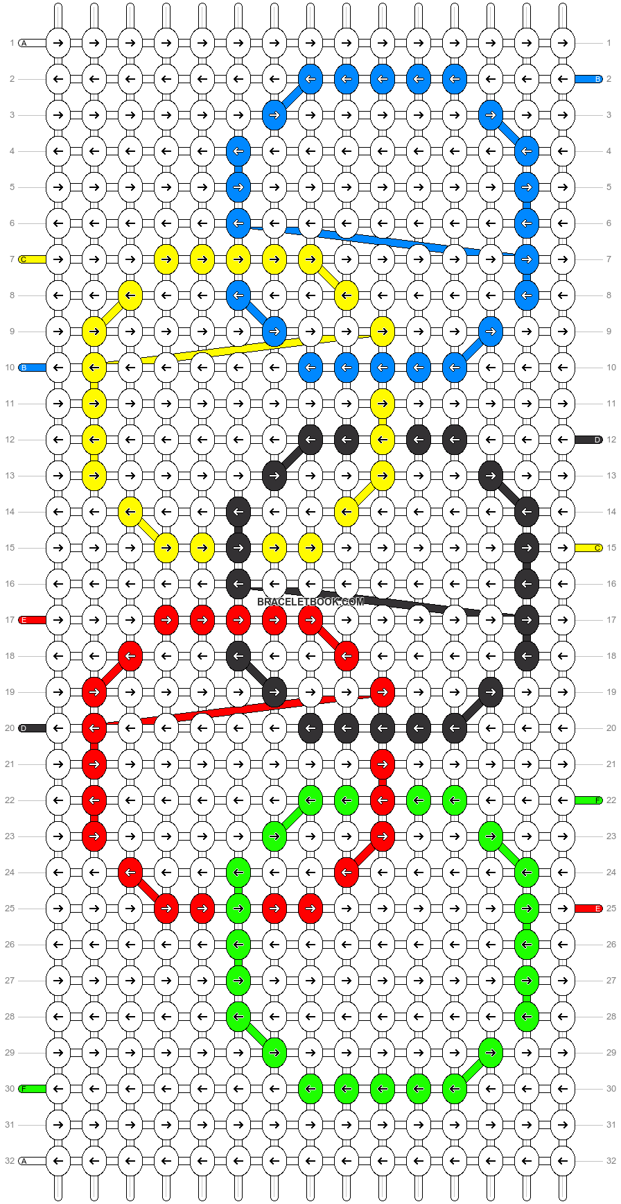 Alpha pattern #97996 pattern