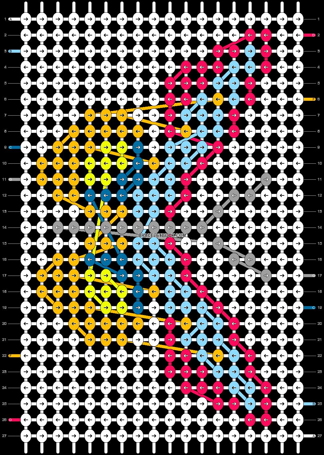 Alpha pattern #98007 pattern