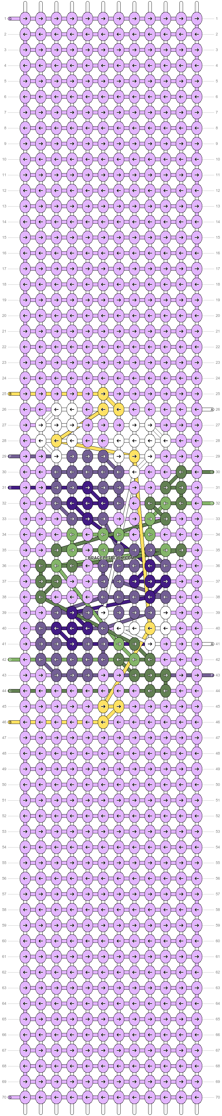 Alpha pattern #98051 pattern
