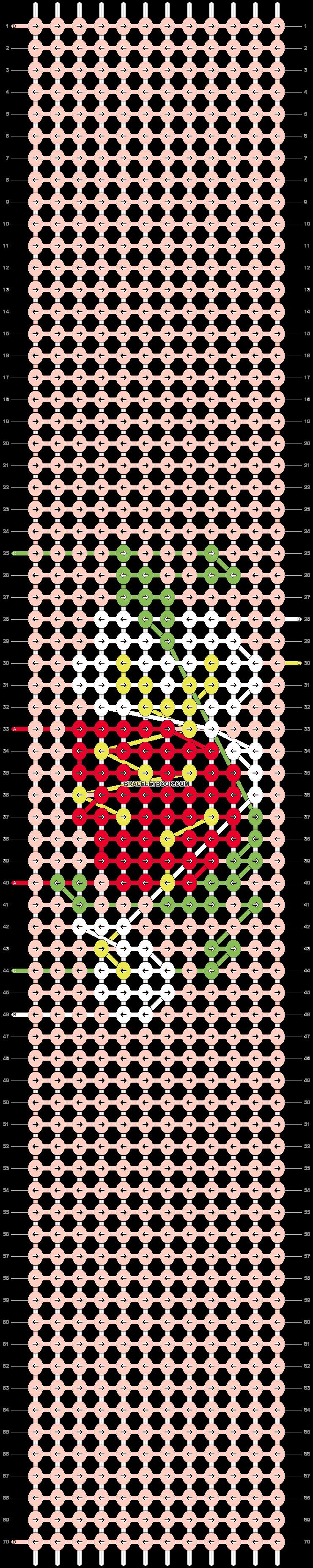 Alpha pattern #98053 pattern
