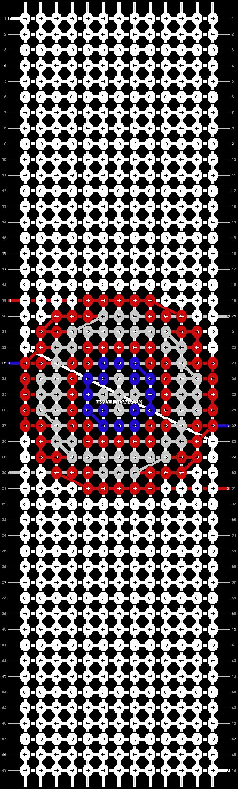 Alpha pattern #98065 pattern