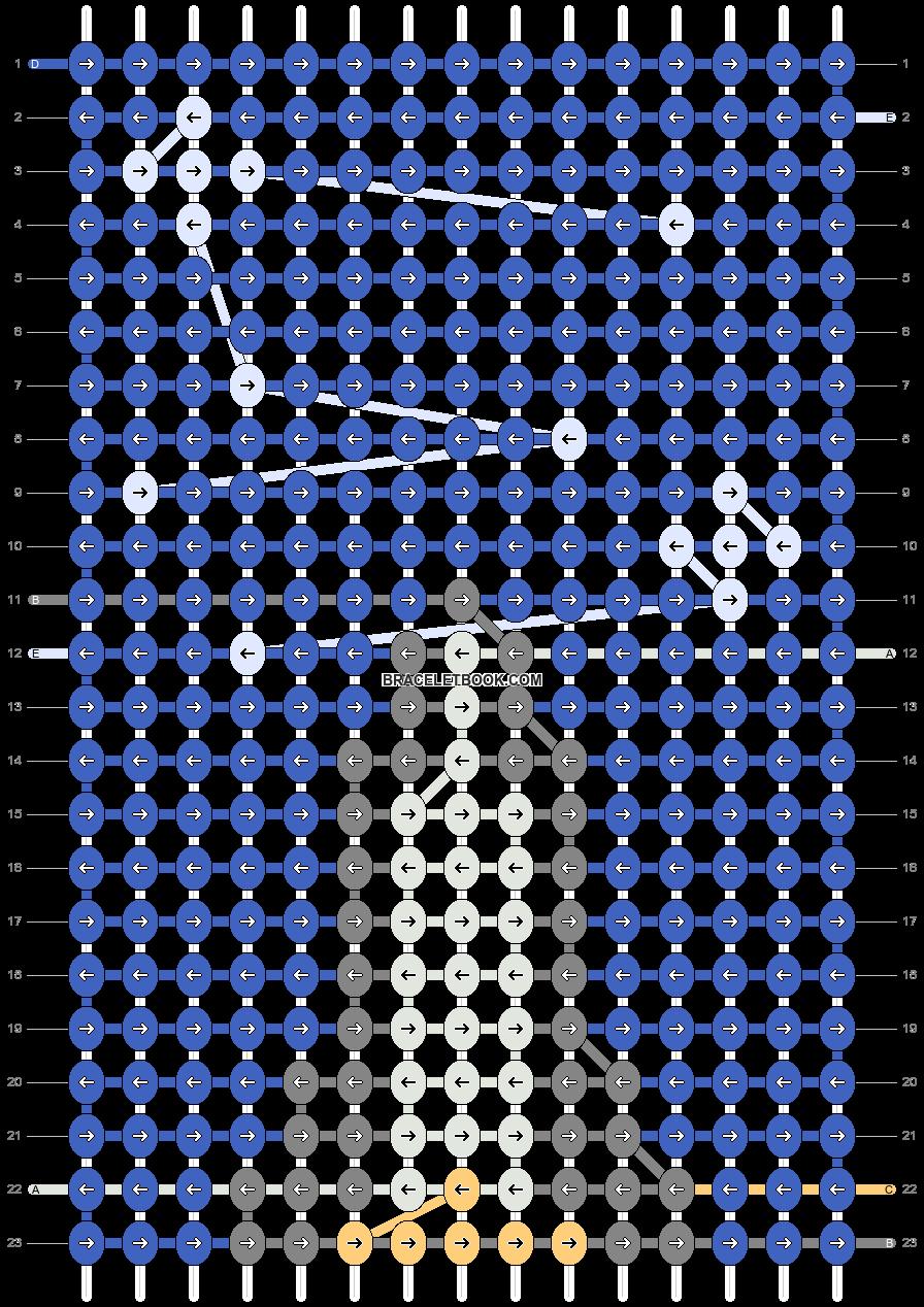 Alpha pattern #98068 pattern
