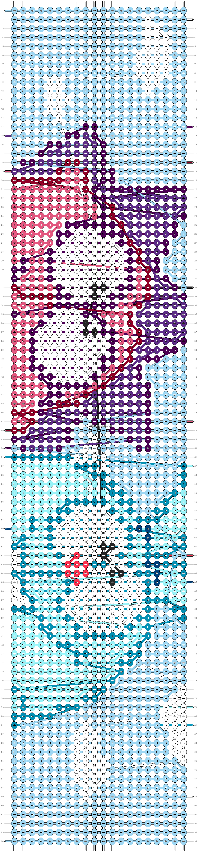 Alpha pattern #98080 pattern