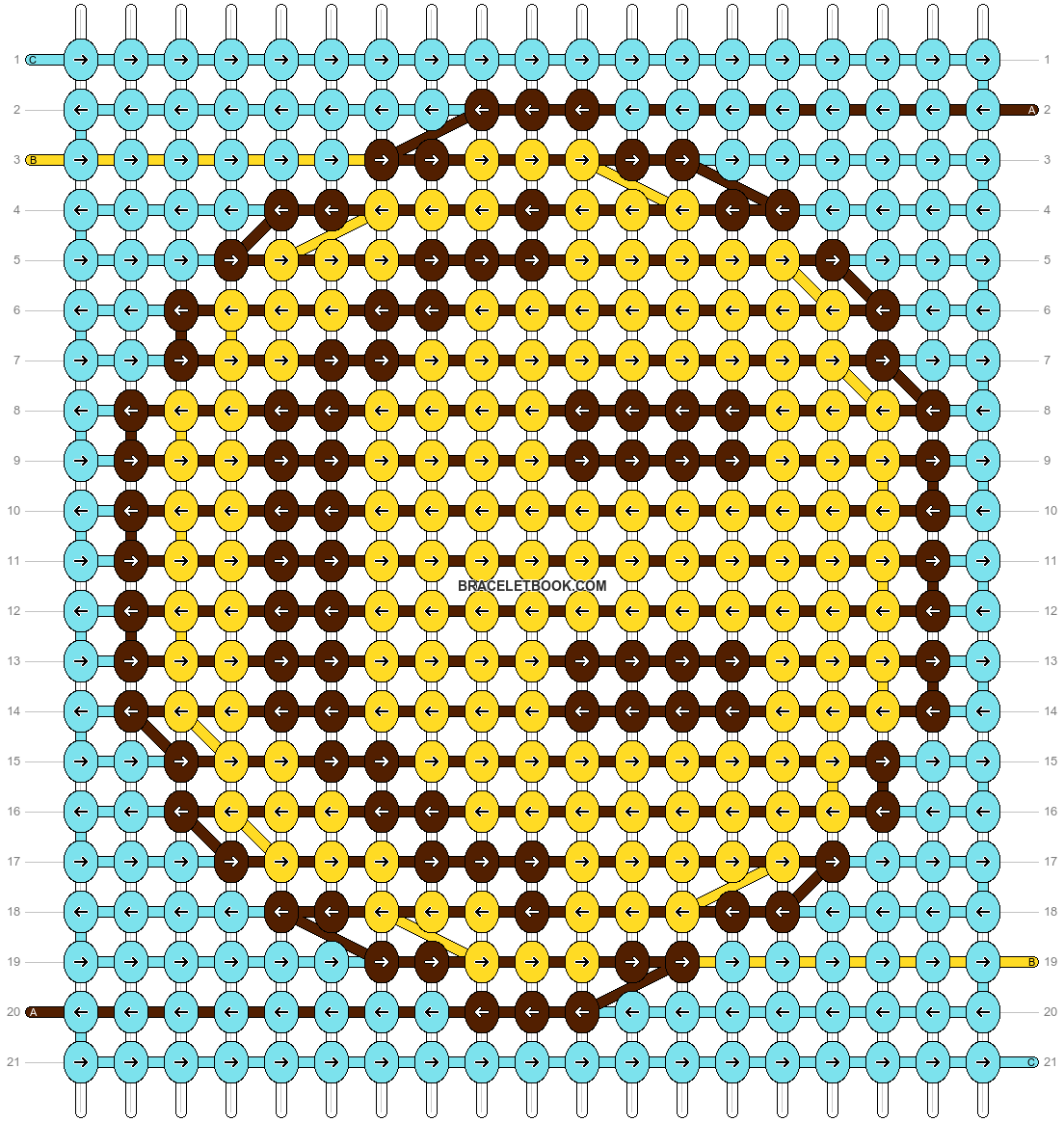 Alpha pattern #98095 pattern