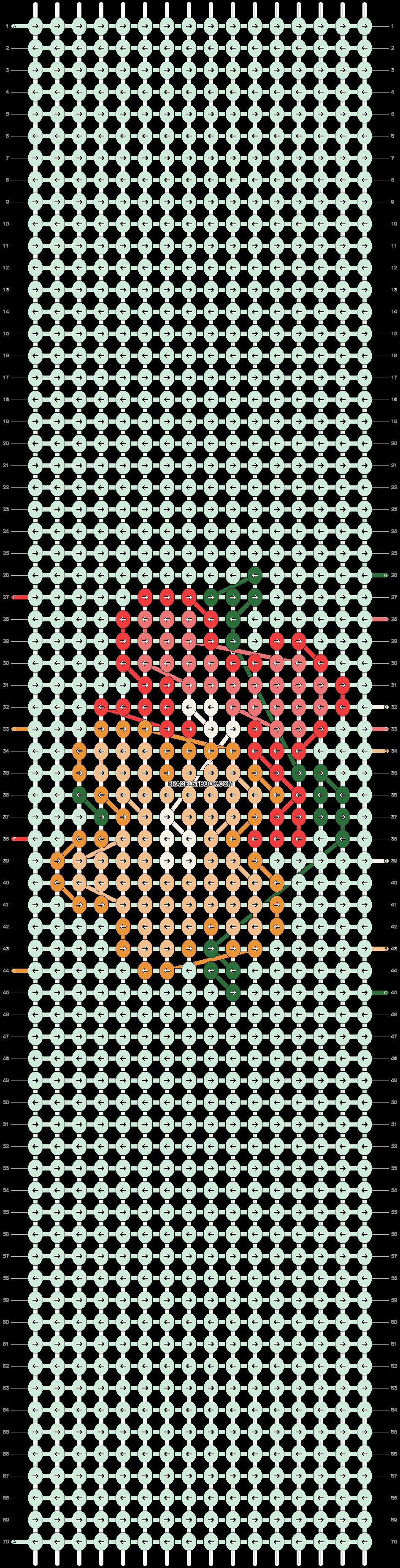 Alpha pattern #98103 pattern