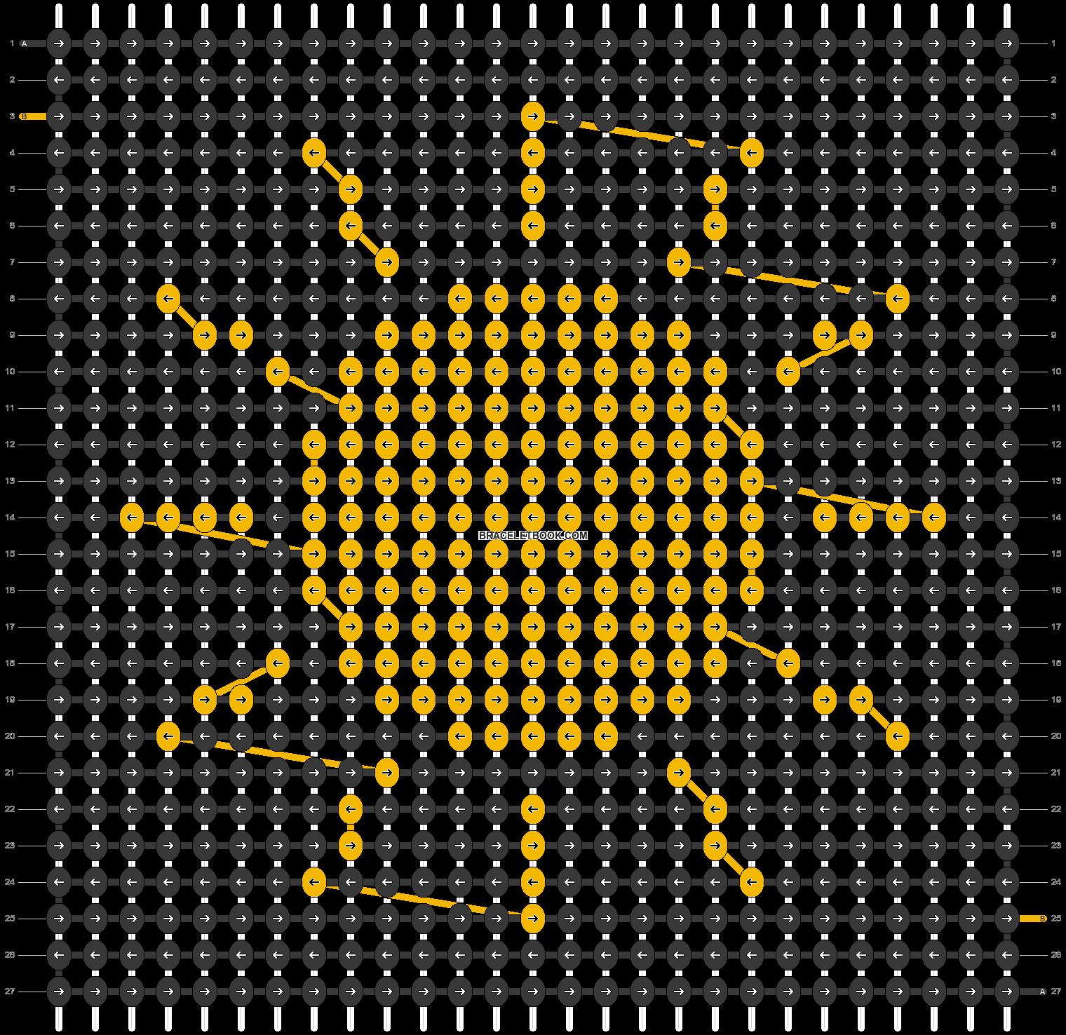 Alpha pattern #98104 pattern