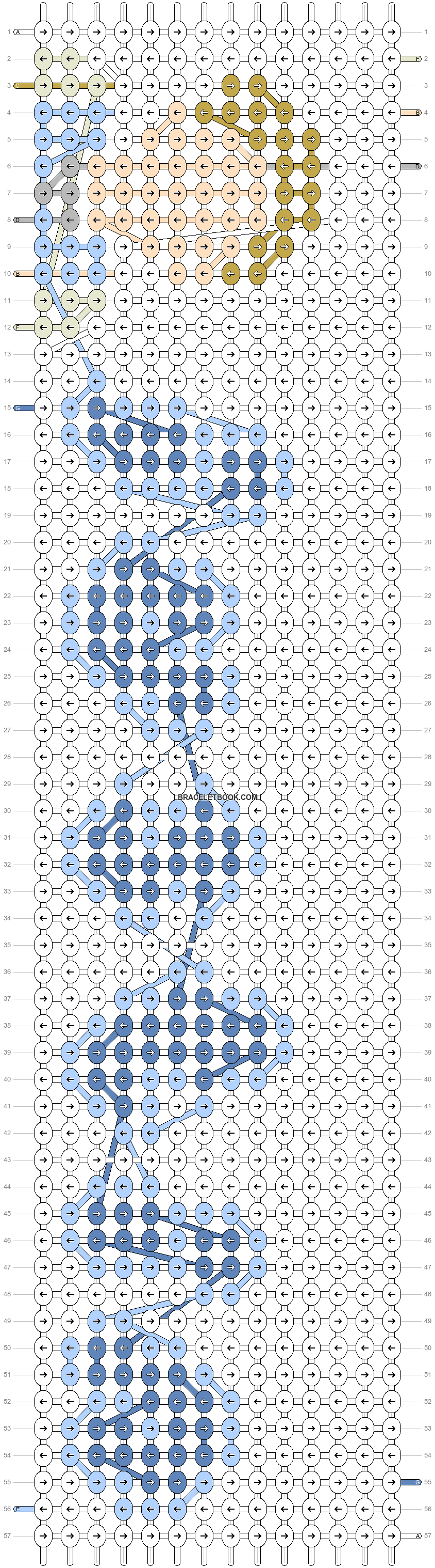 Alpha pattern #98112 pattern