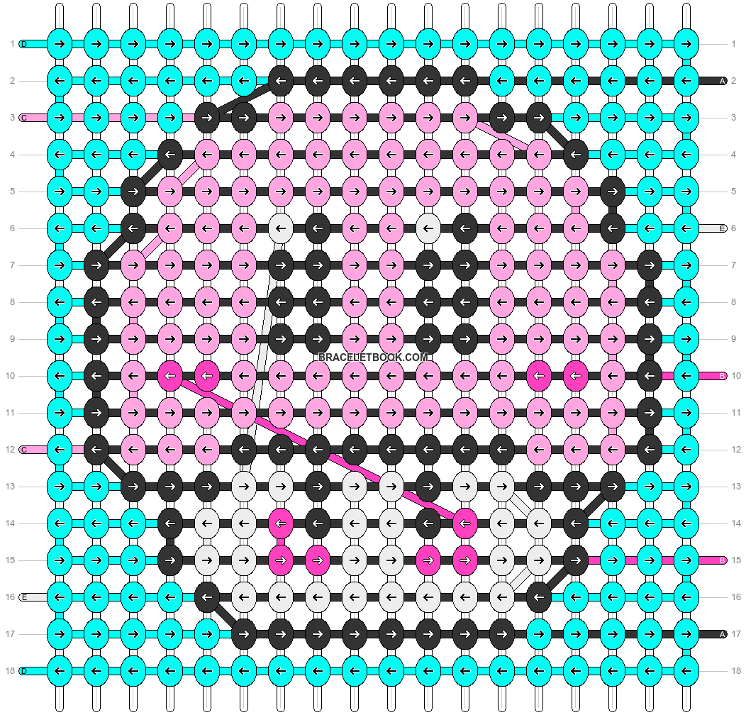 Alpha pattern #98182 pattern