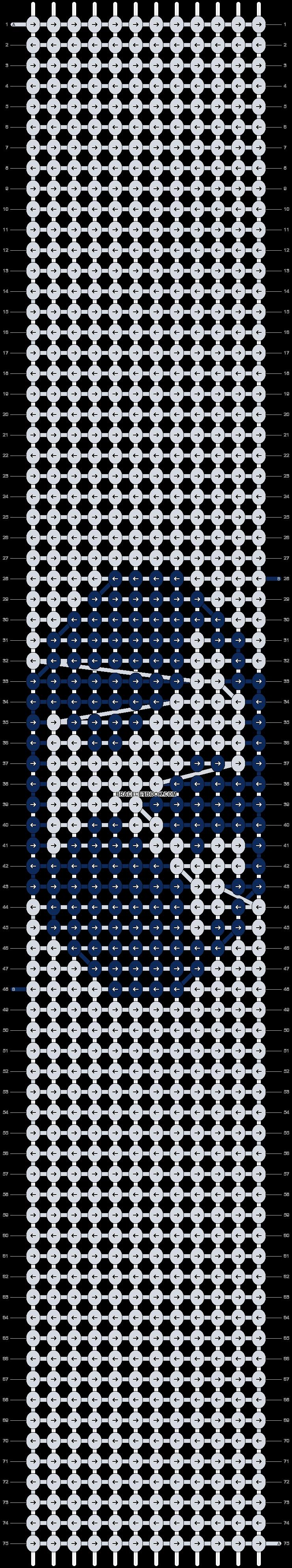 Alpha pattern #98202 pattern