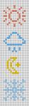 Alpha pattern #98370