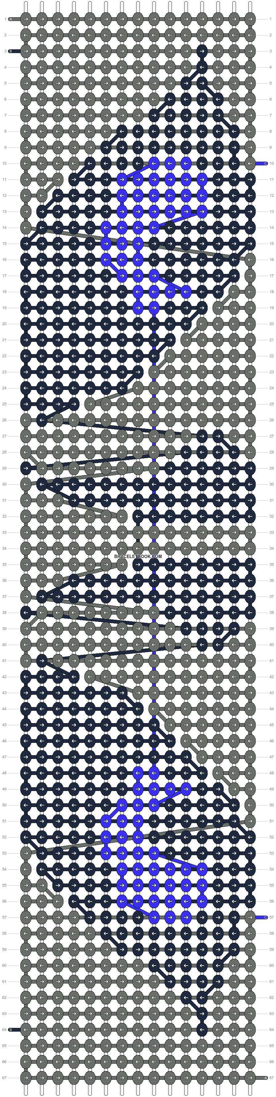 Alpha pattern #98371 pattern