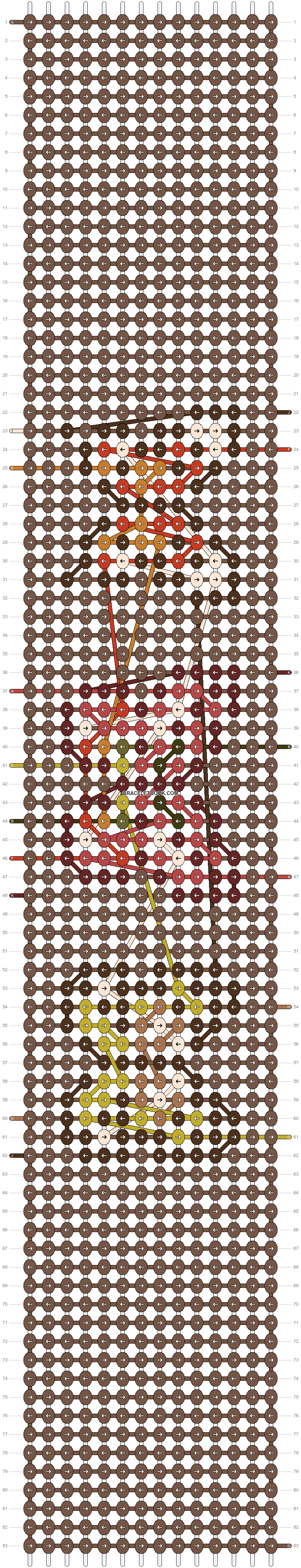Alpha pattern #98392 pattern