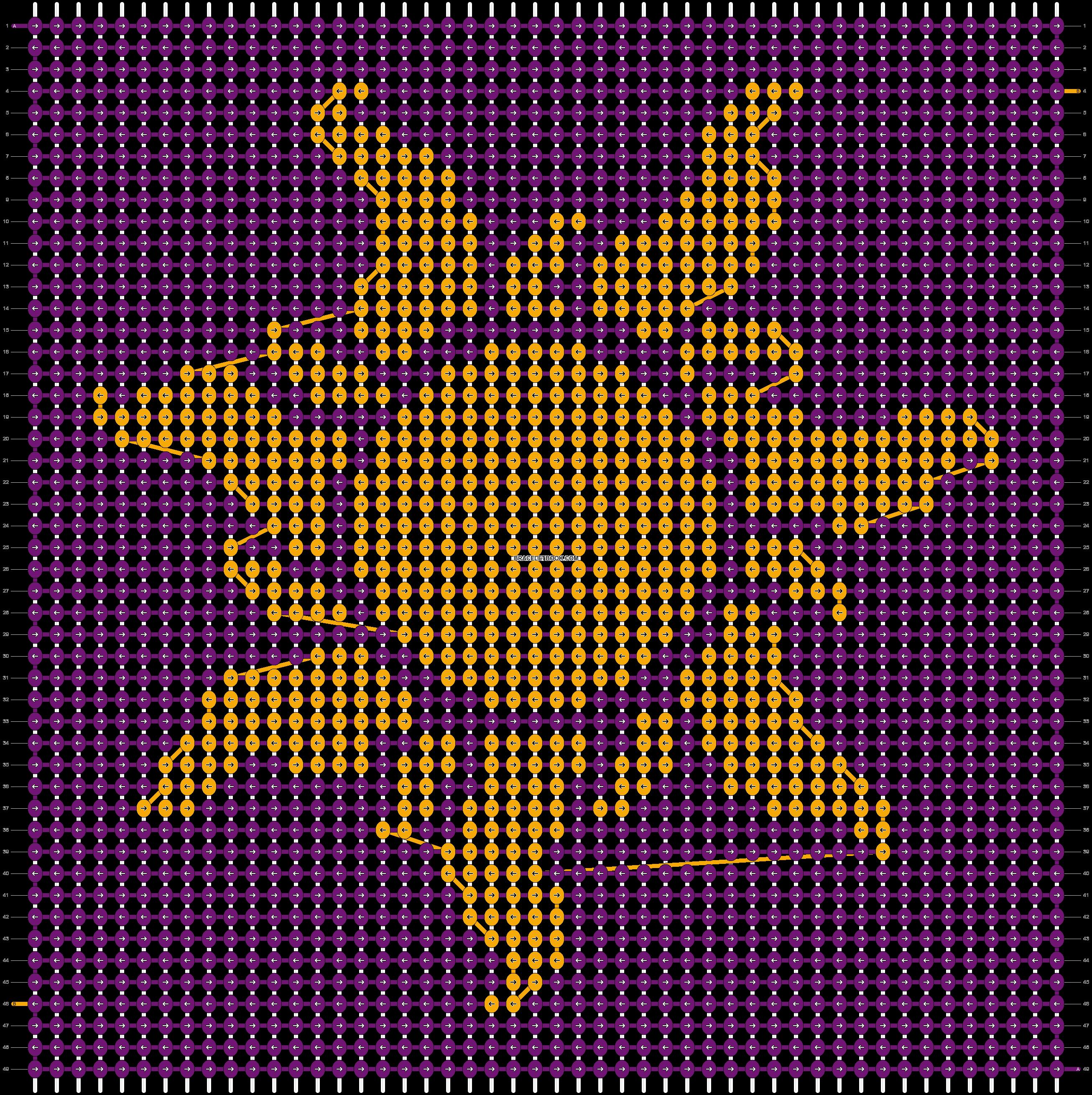 Alpha pattern #98395 pattern