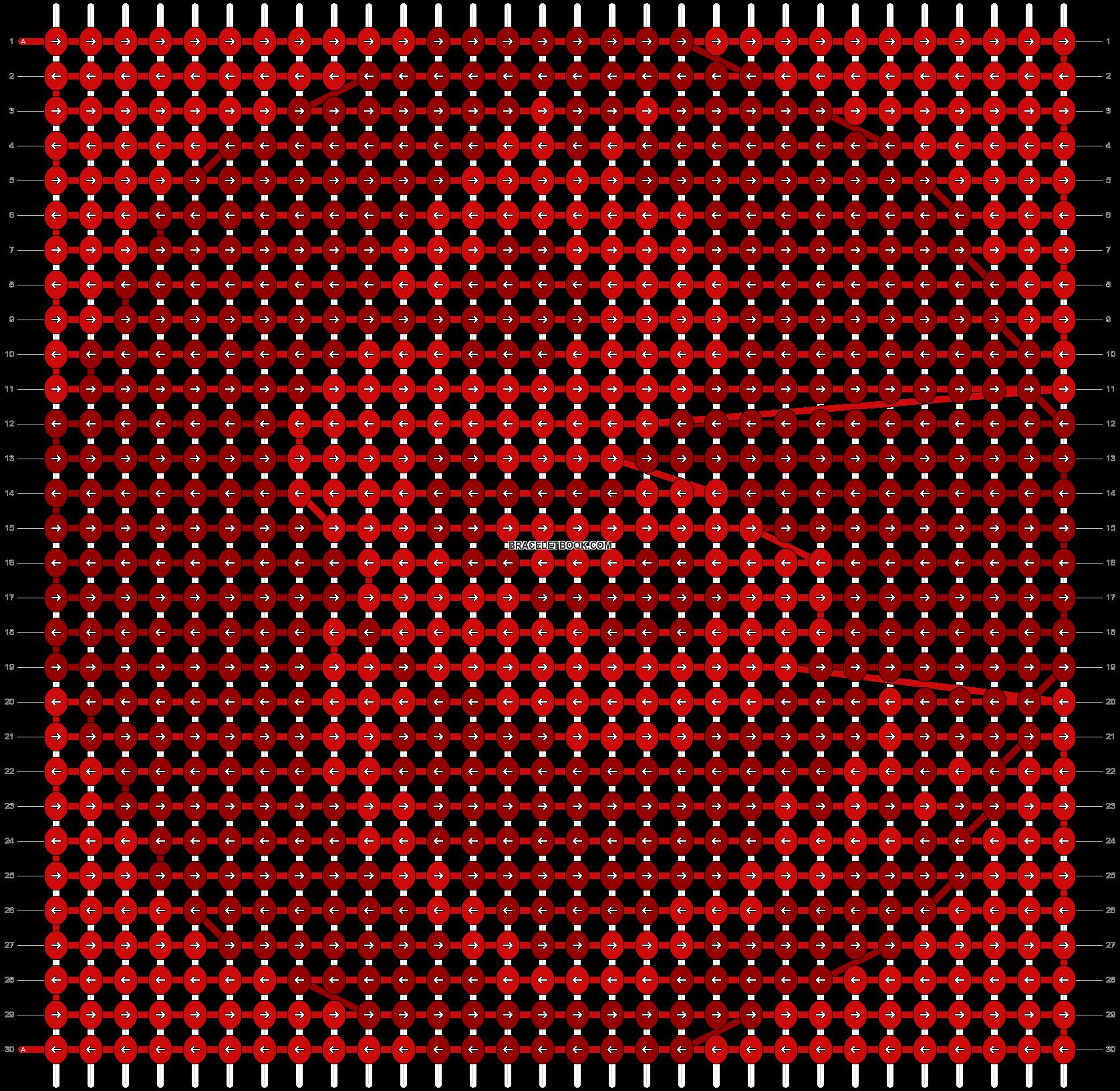 Alpha pattern #98403 pattern