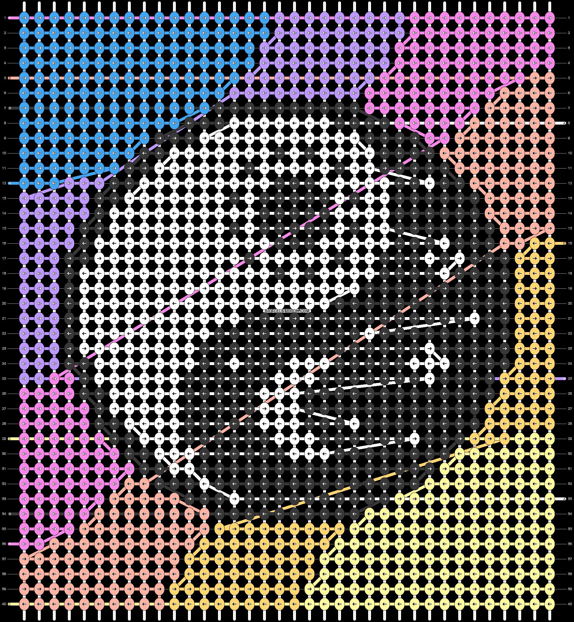 Alpha pattern #98484 pattern
