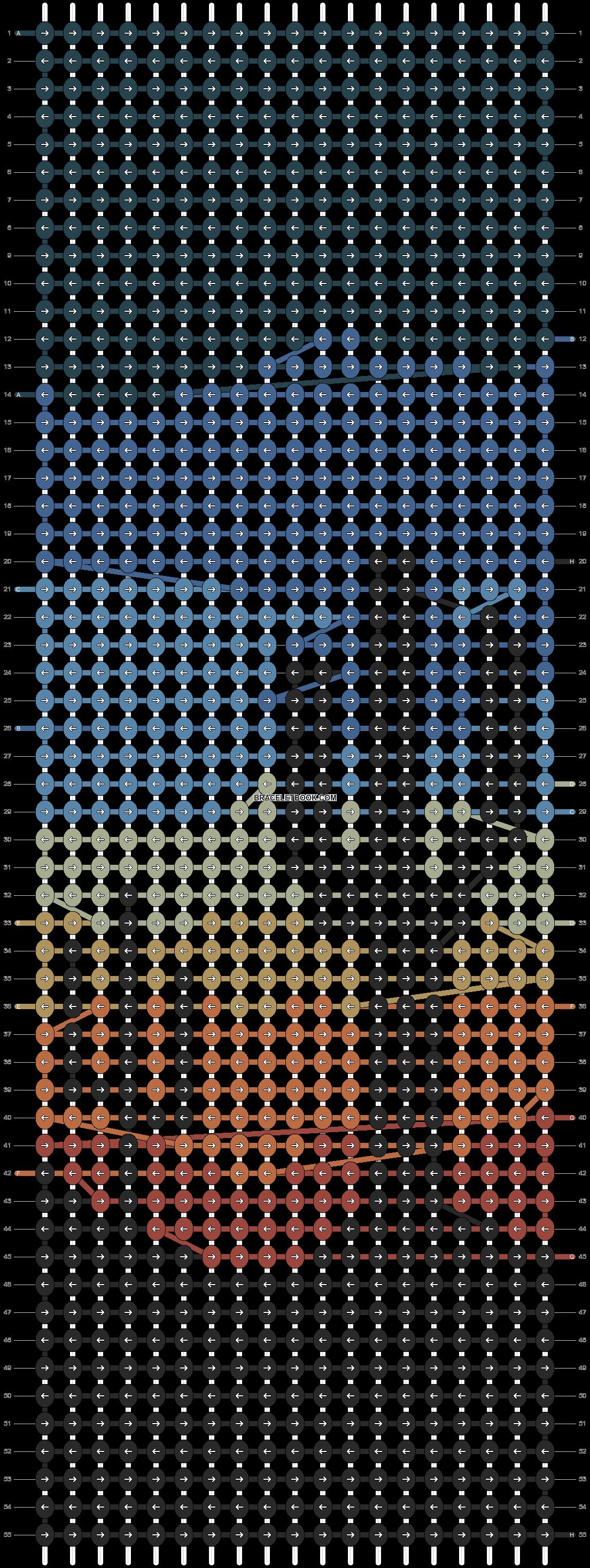 Alpha pattern #98498 pattern