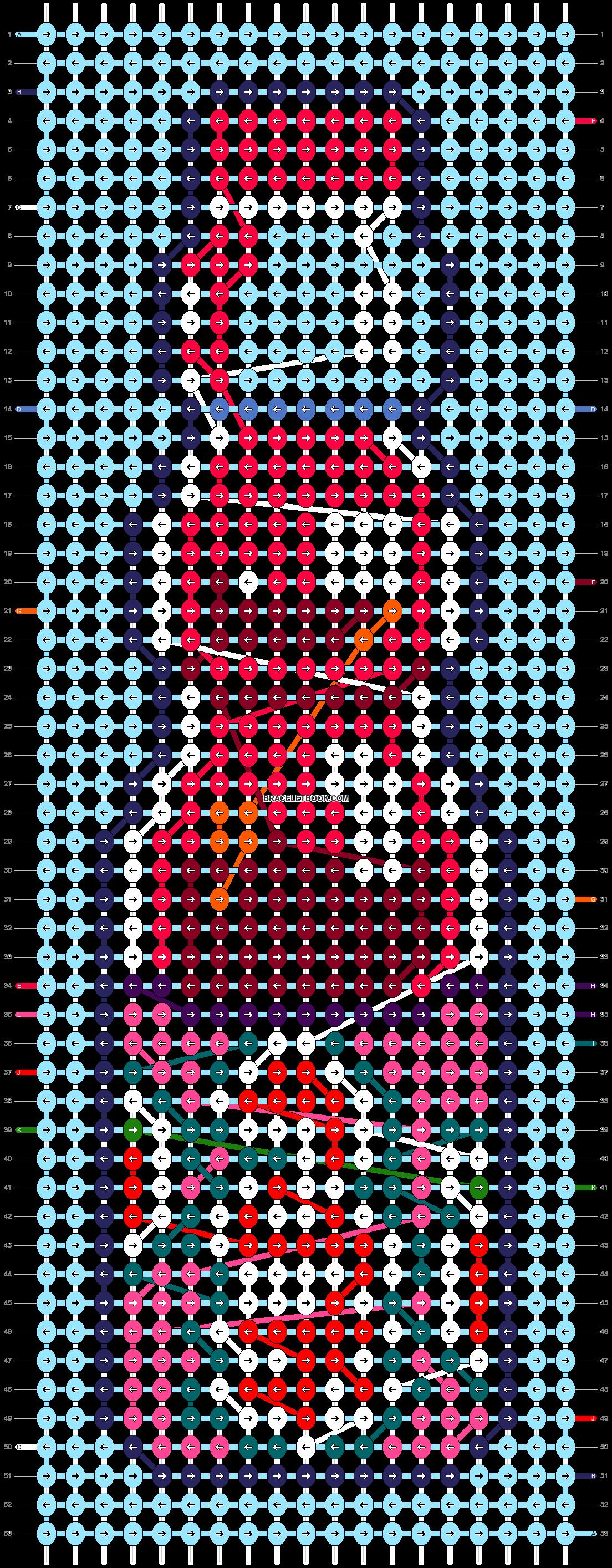 Alpha pattern #98533 pattern