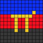 Alpha pattern #98546
