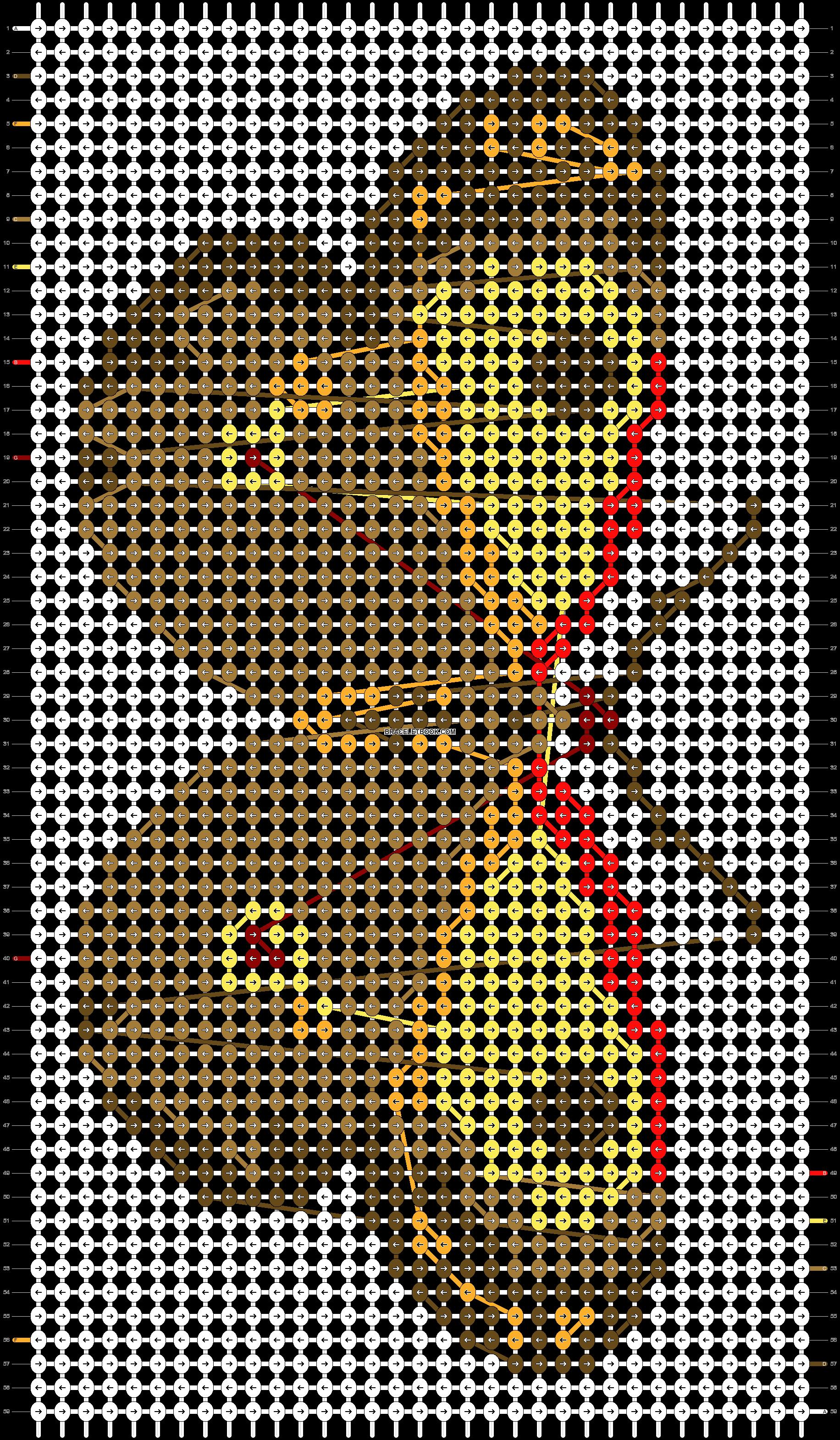 Alpha pattern #98564 pattern