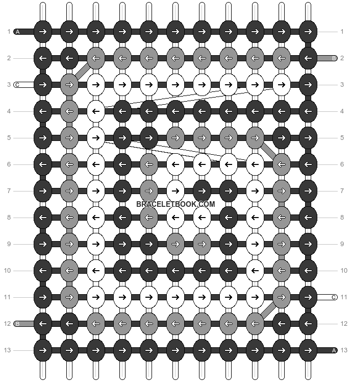 Alpha pattern #98582 pattern