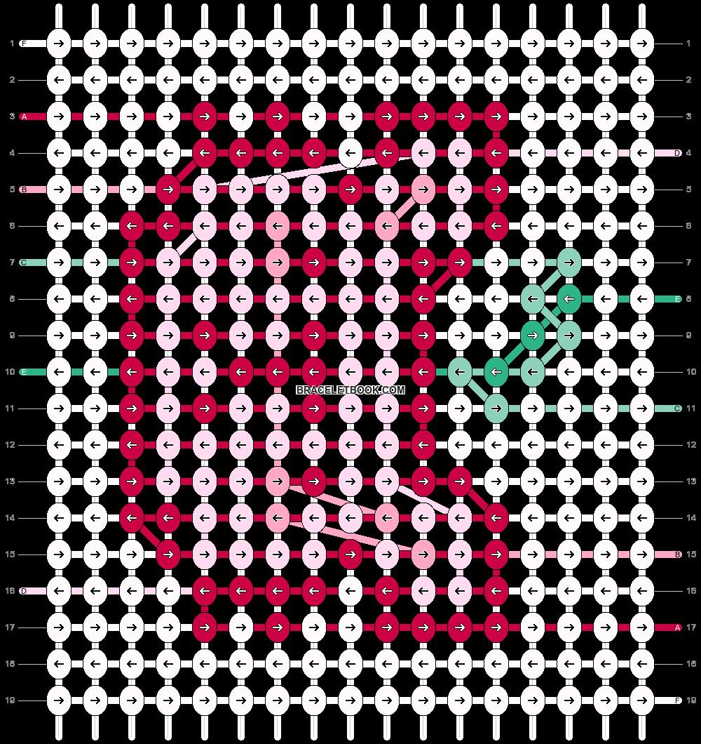 Alpha pattern #98588 pattern