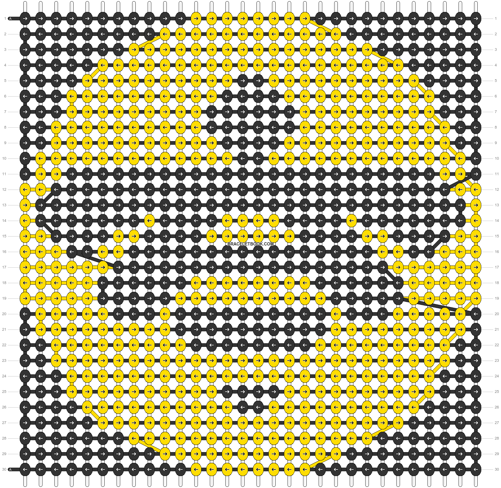 Alpha pattern #98611 pattern