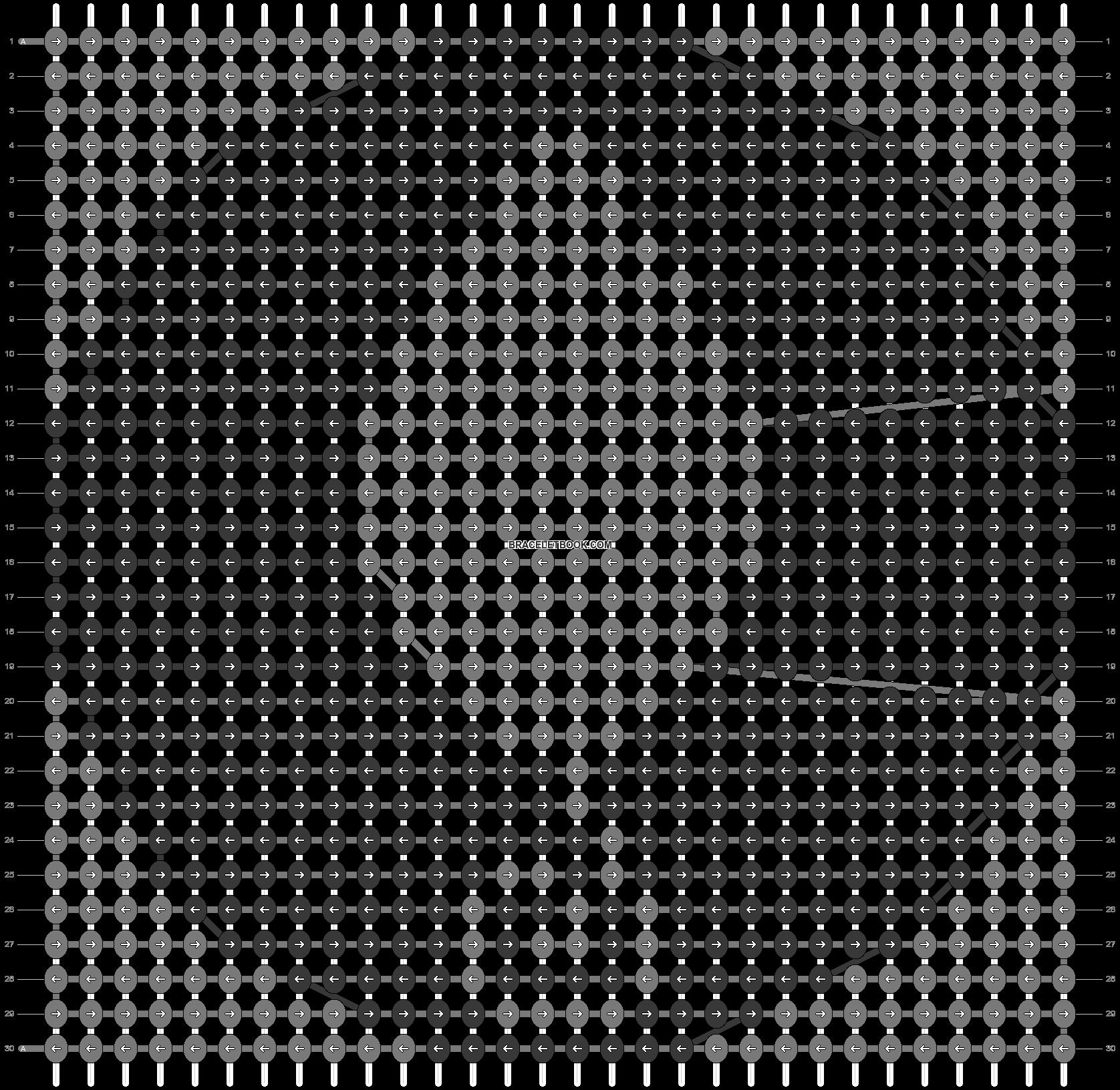 Alpha pattern #98619 pattern