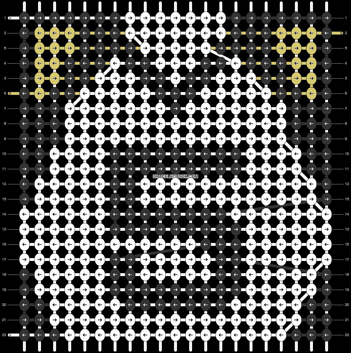 Alpha pattern #98633 pattern
