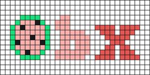 Alpha pattern #98654
