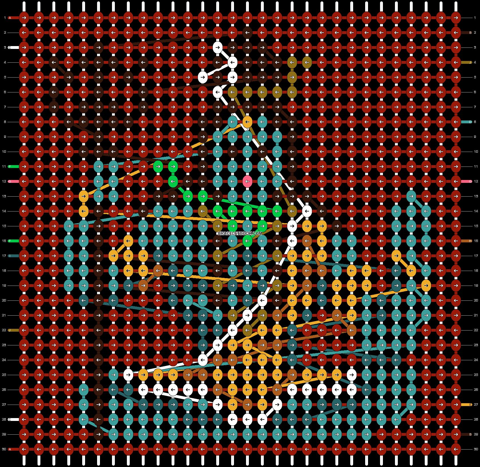 Alpha pattern #98684 pattern