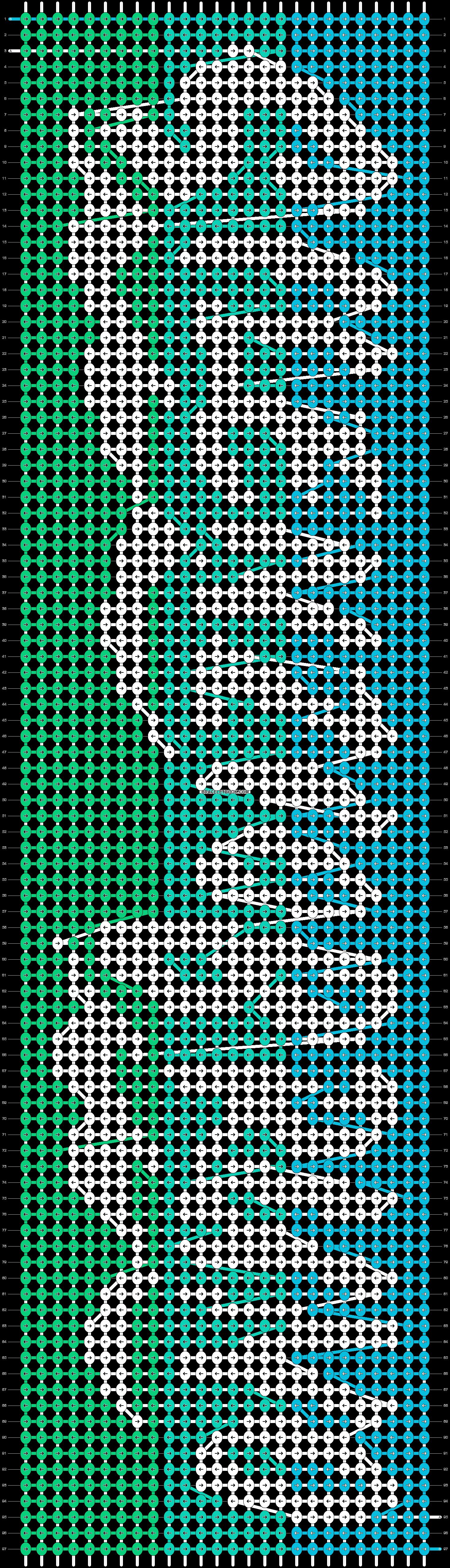 Alpha pattern #98722 pattern