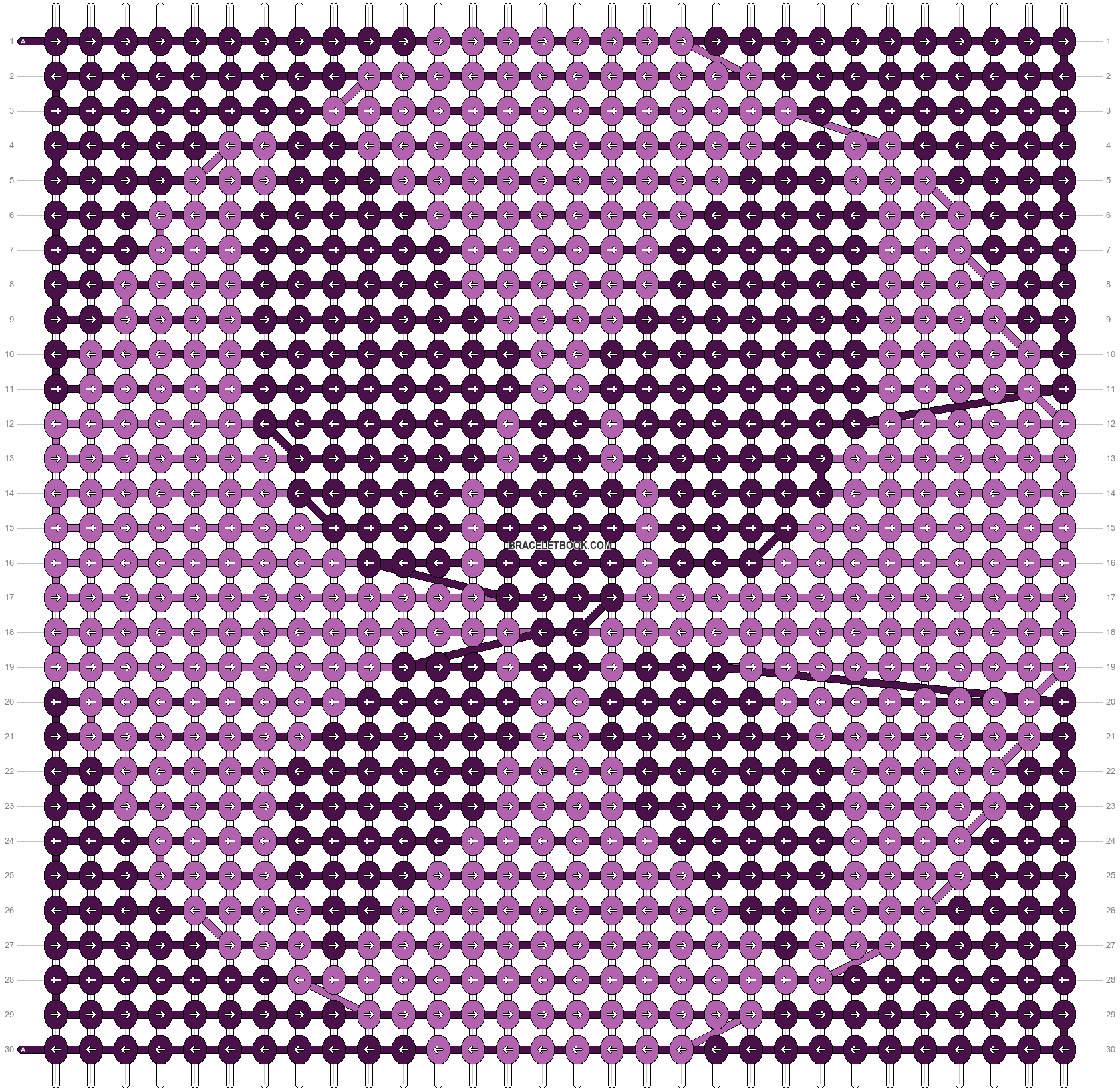 Alpha pattern #98746 pattern