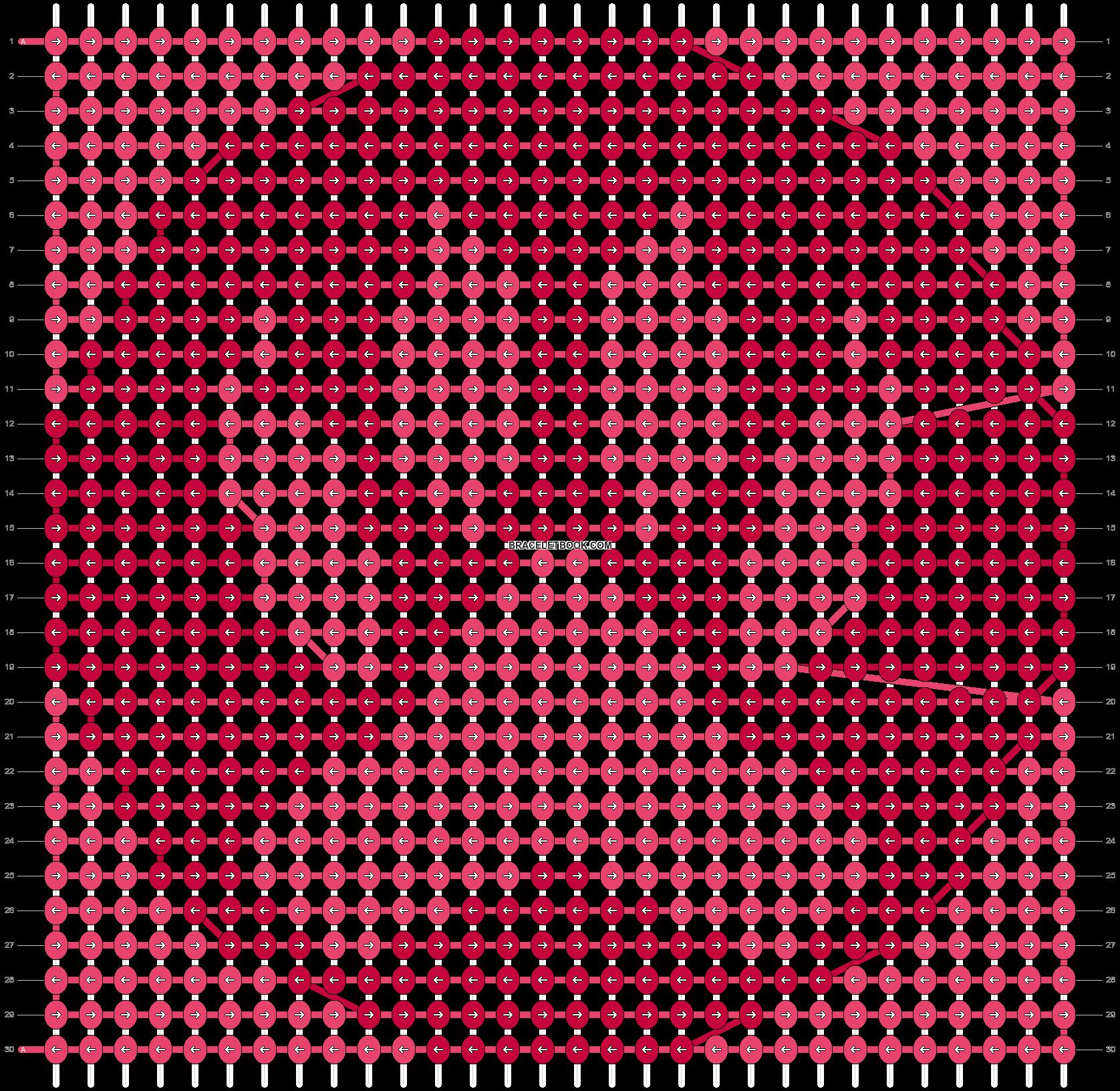 Alpha pattern #98764 pattern