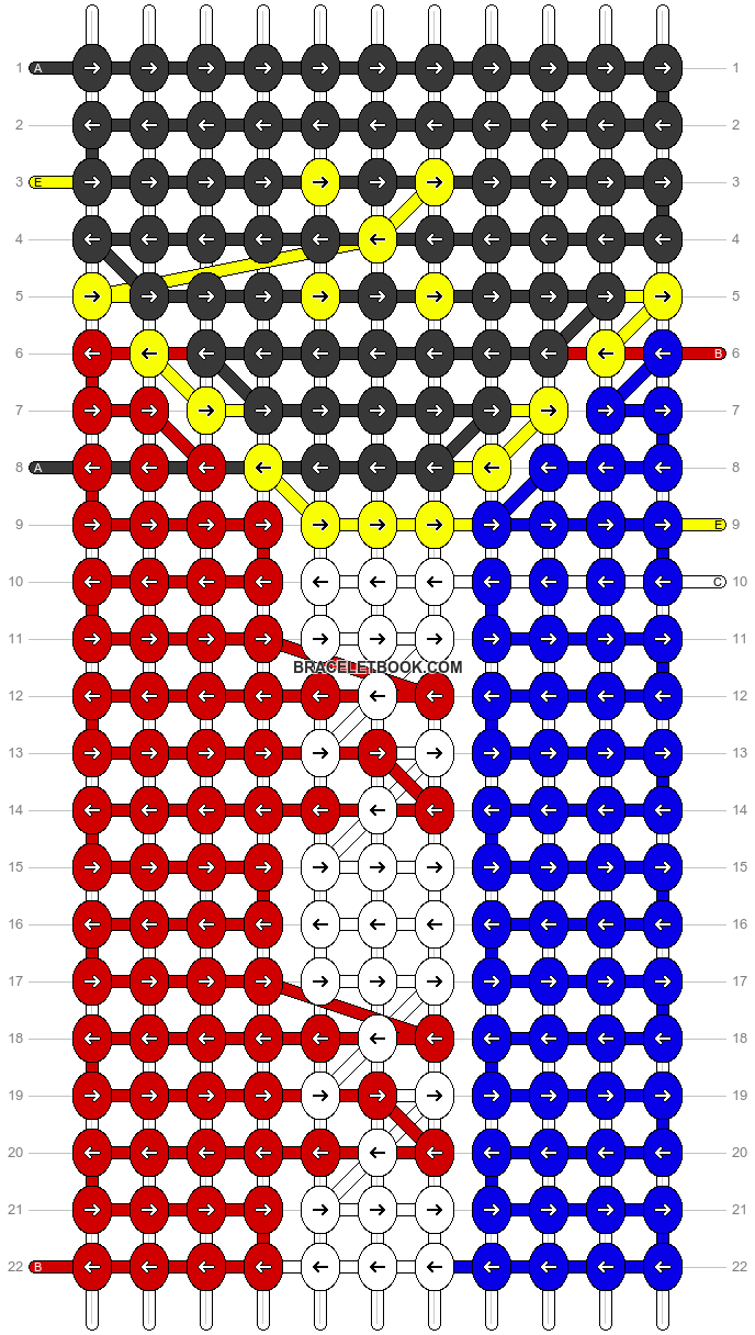 Alpha pattern #98785 pattern