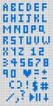 Alpha pattern #98787
