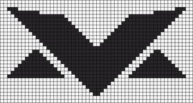 Alpha pattern #98876