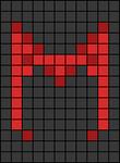 Alpha pattern #98883