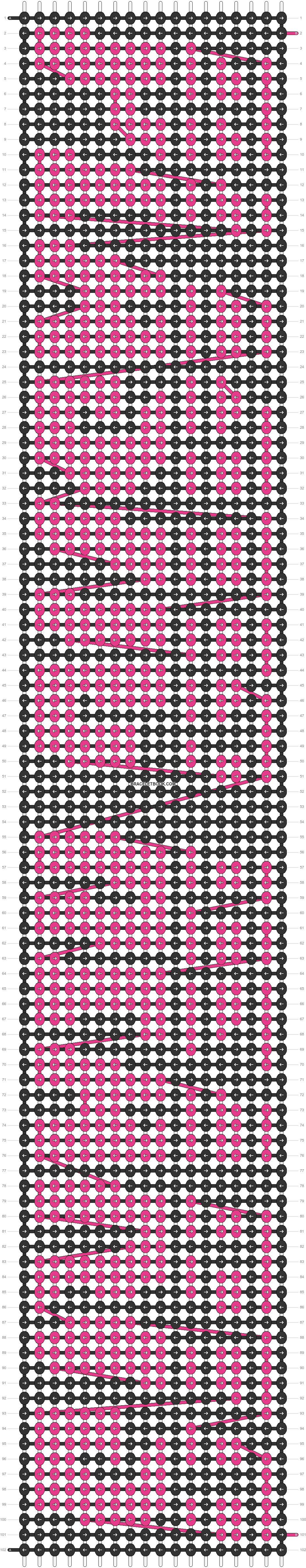 Alpha pattern #98886 pattern