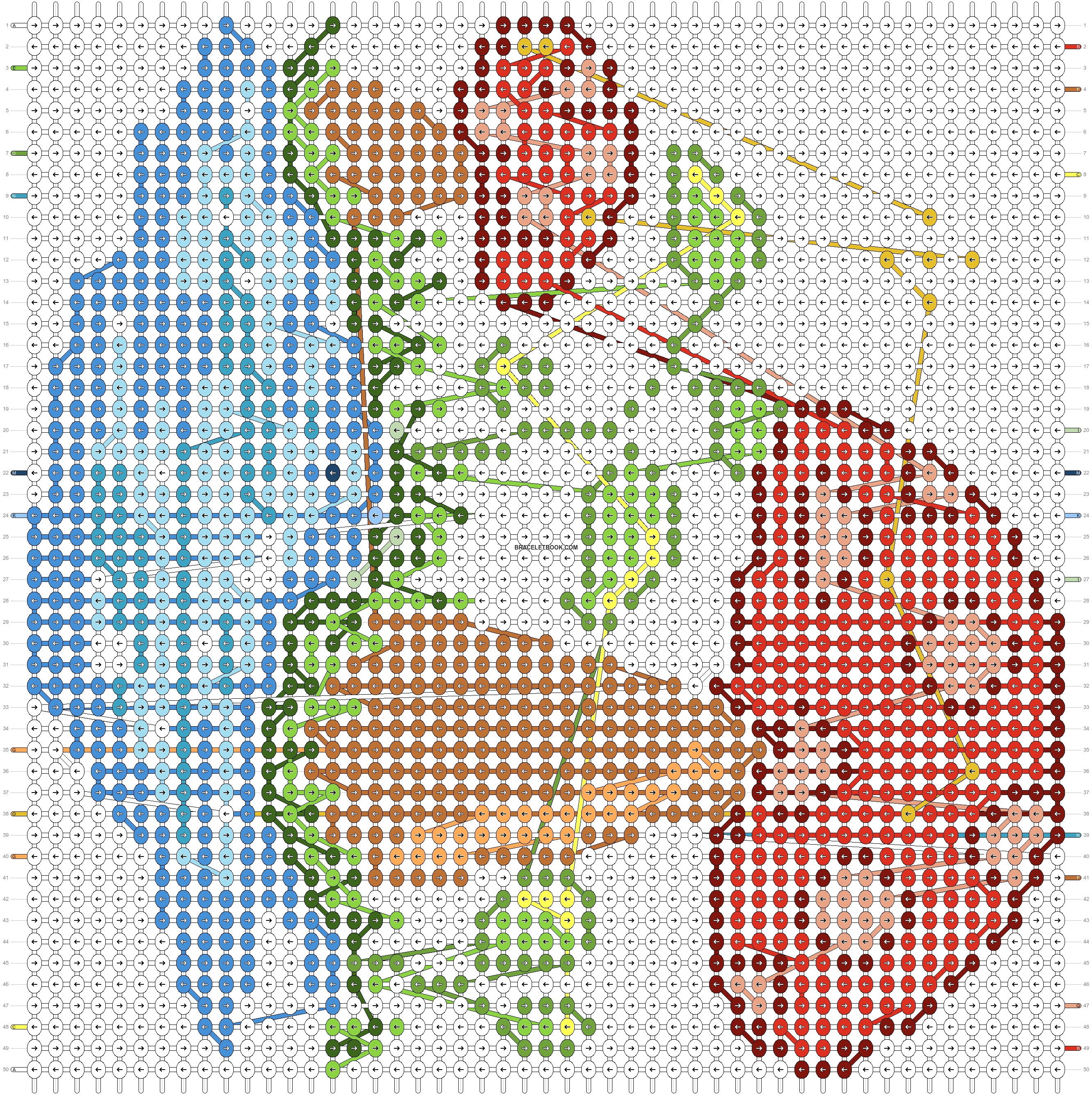 Alpha pattern #98890 pattern