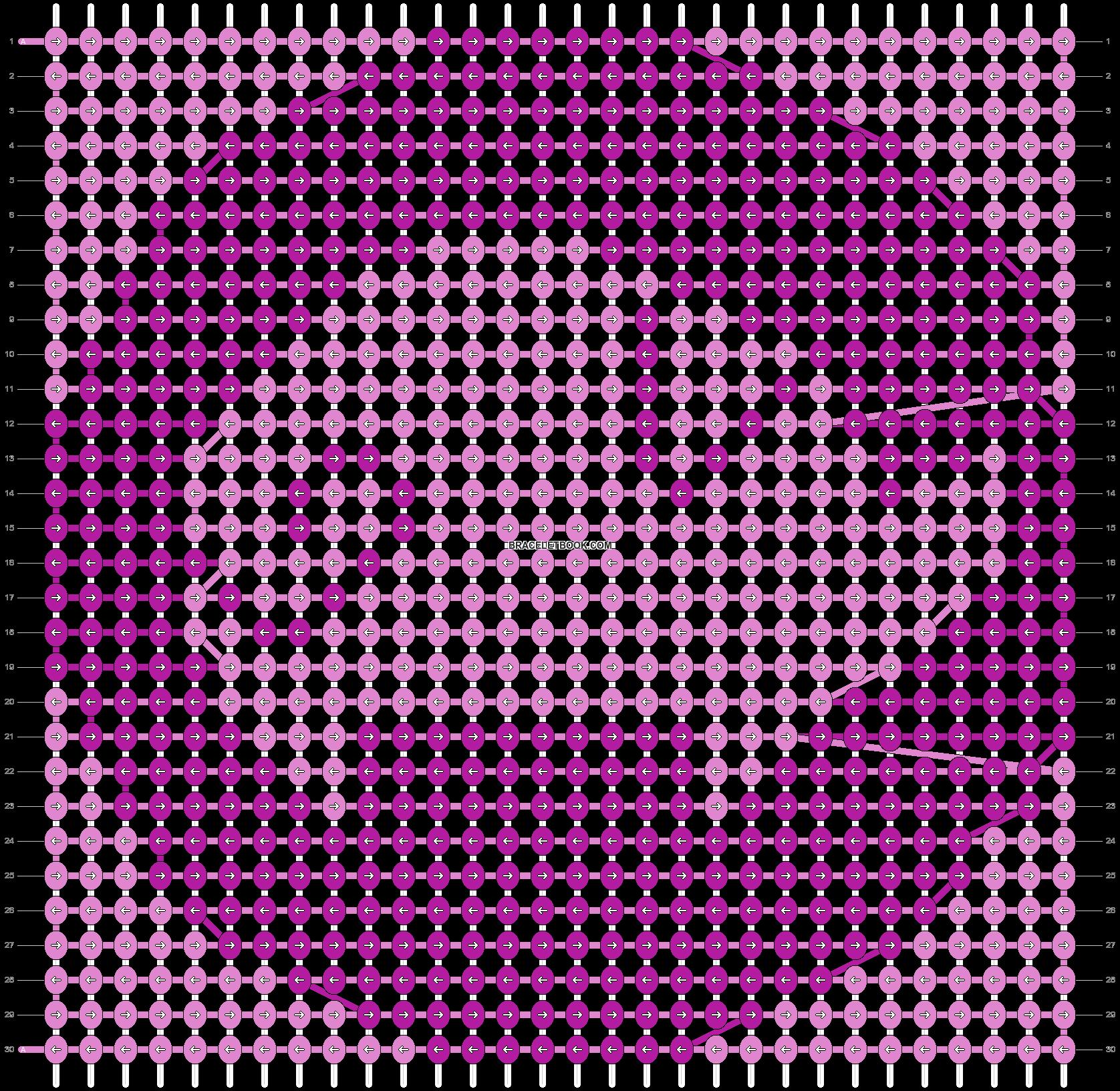 Alpha pattern #98900 pattern