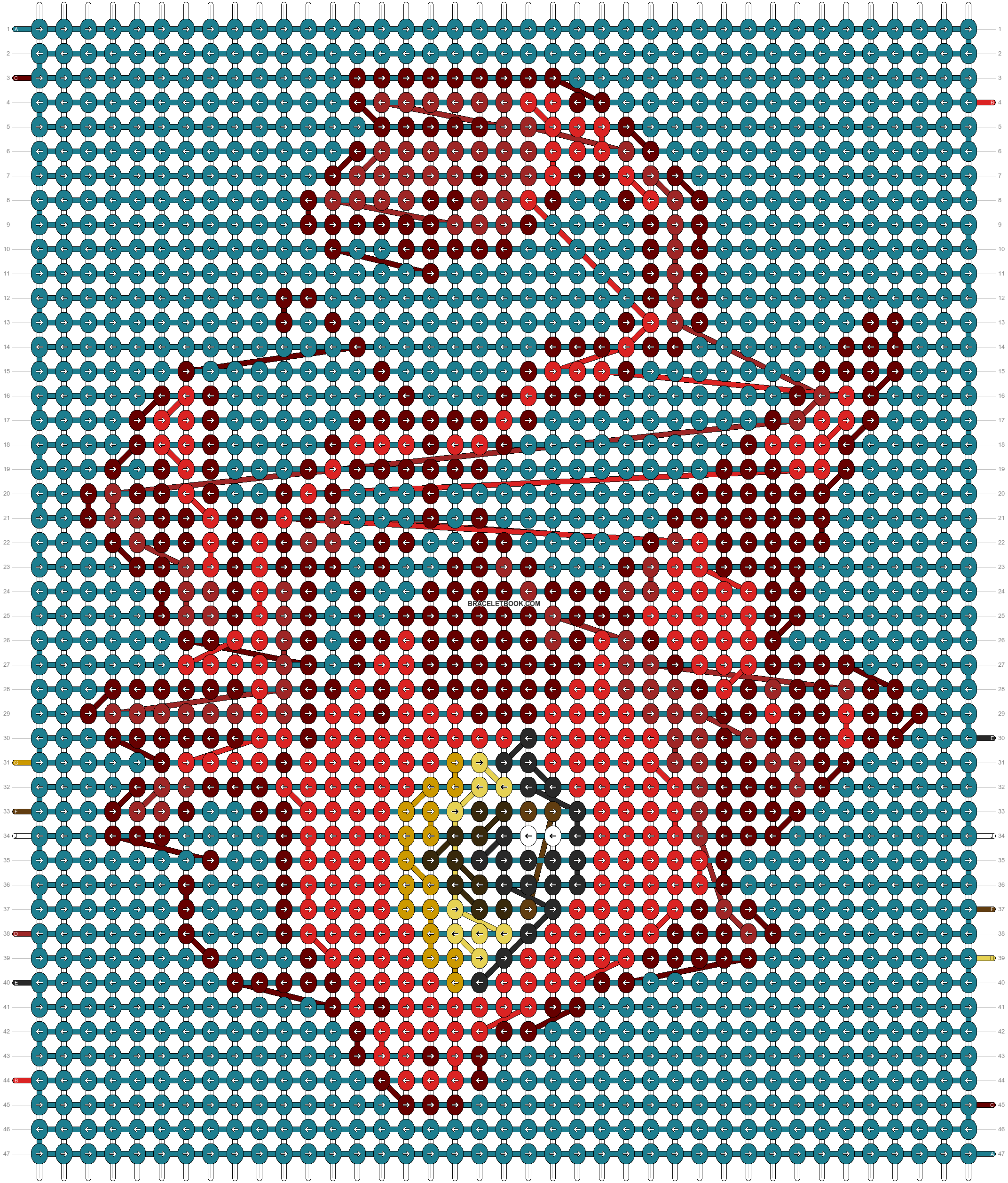 Alpha pattern #98939 pattern