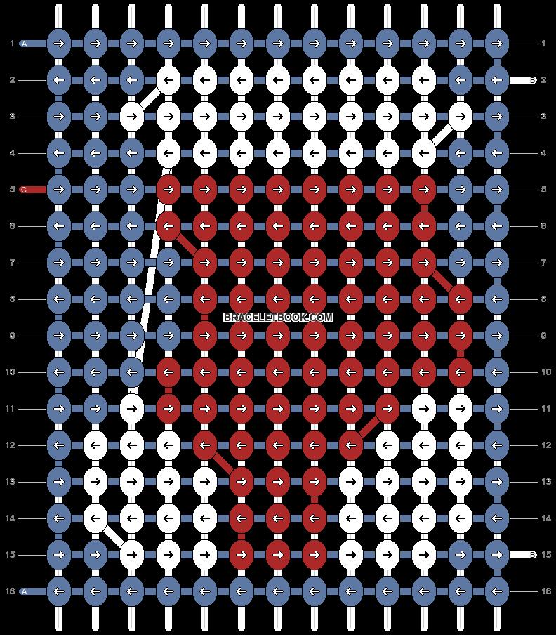 Alpha pattern #98966 pattern