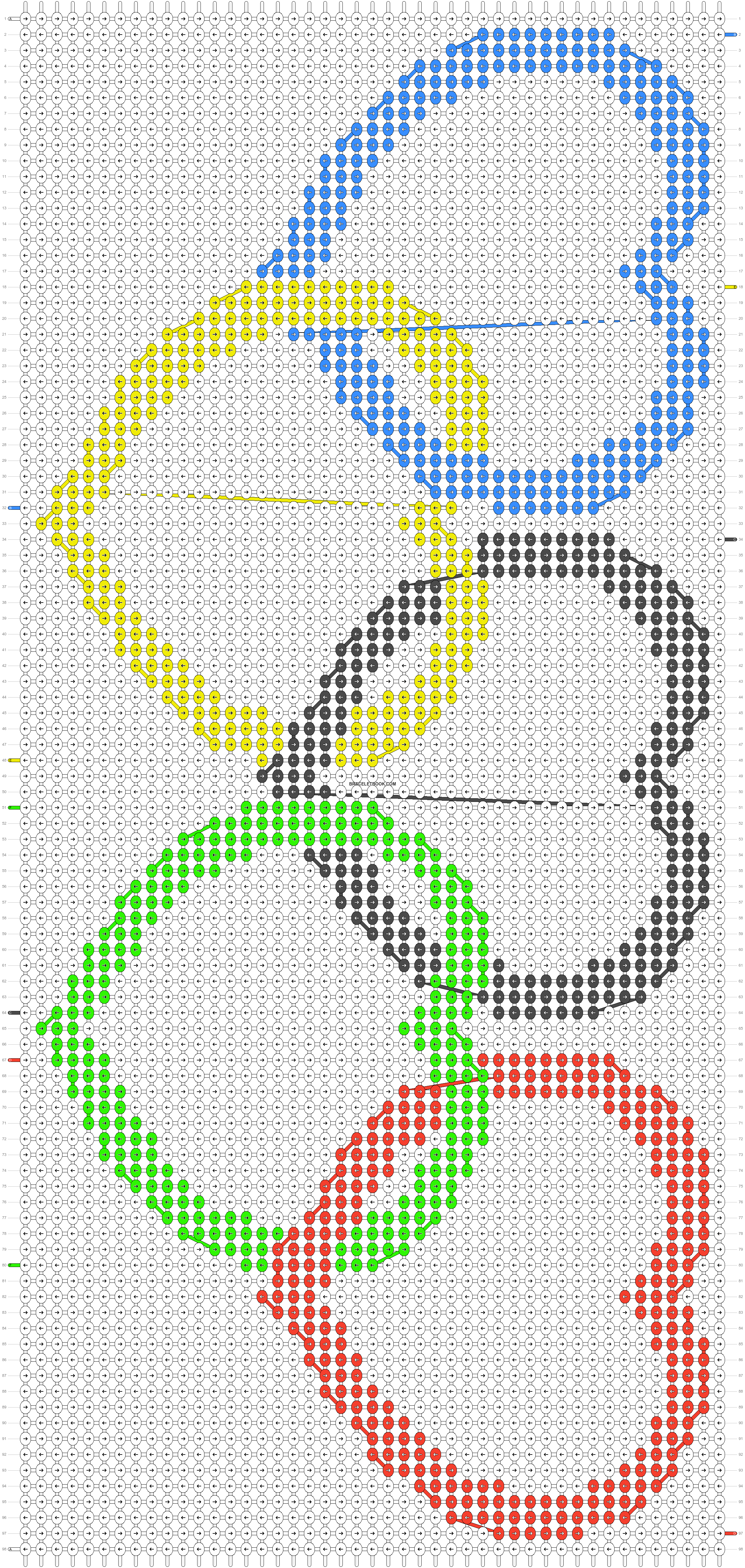 Alpha pattern #98975 pattern