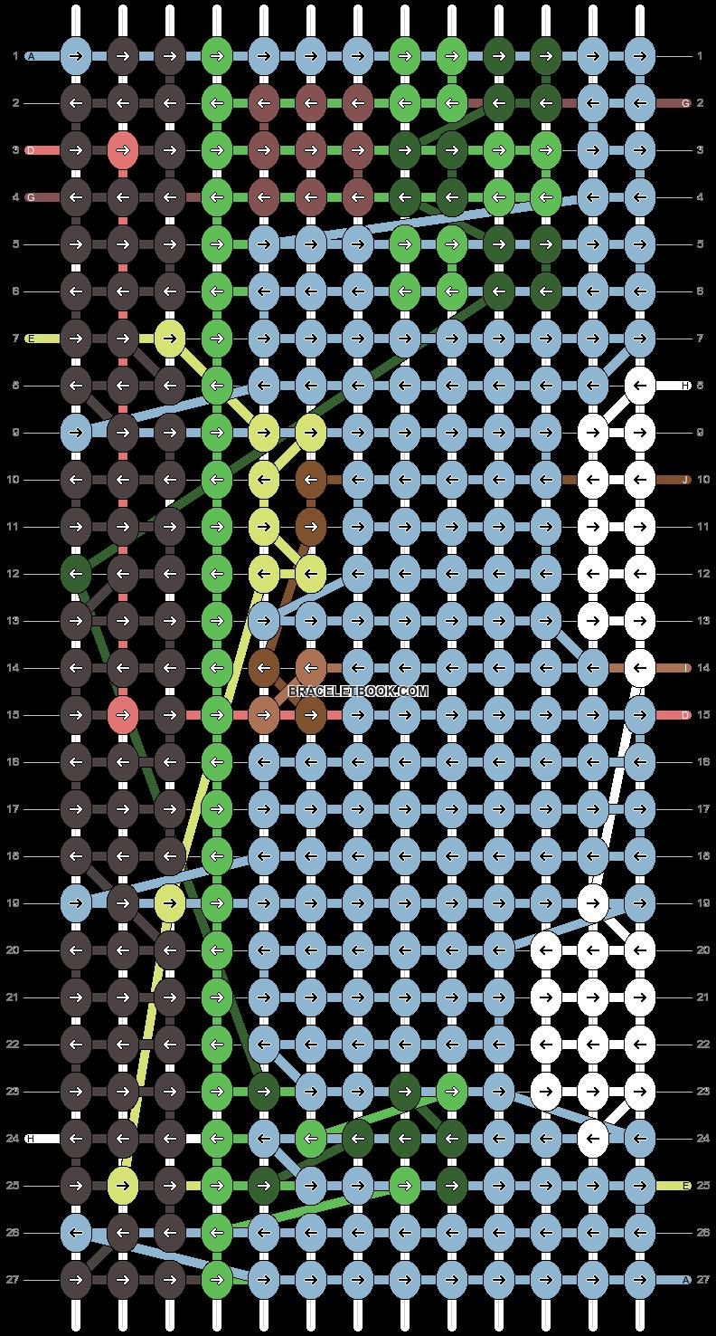 Alpha pattern #98980 pattern