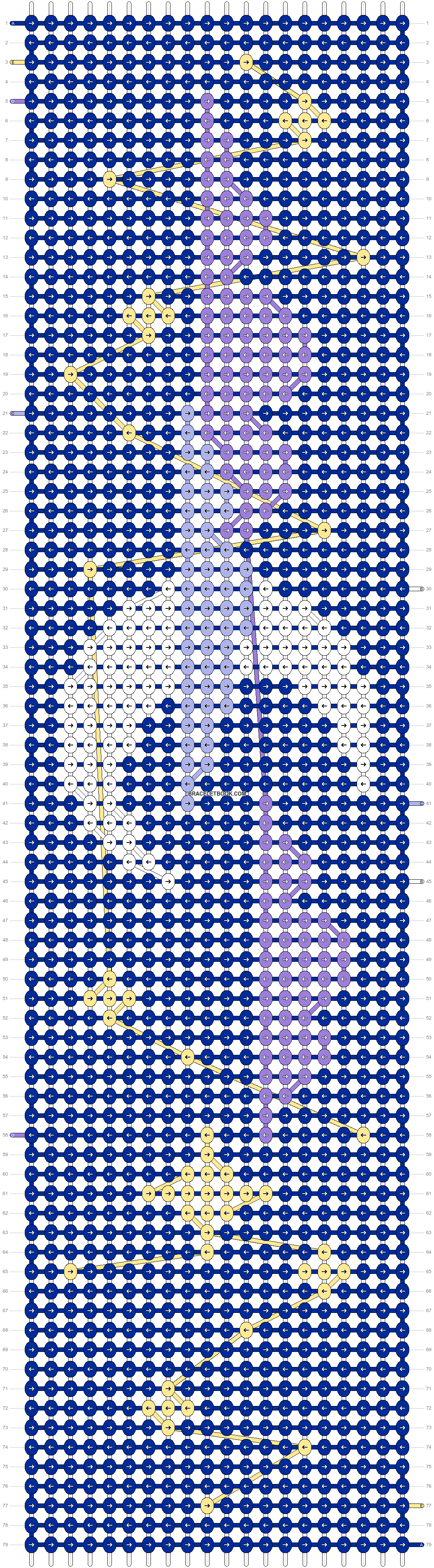 Alpha pattern #98981 pattern