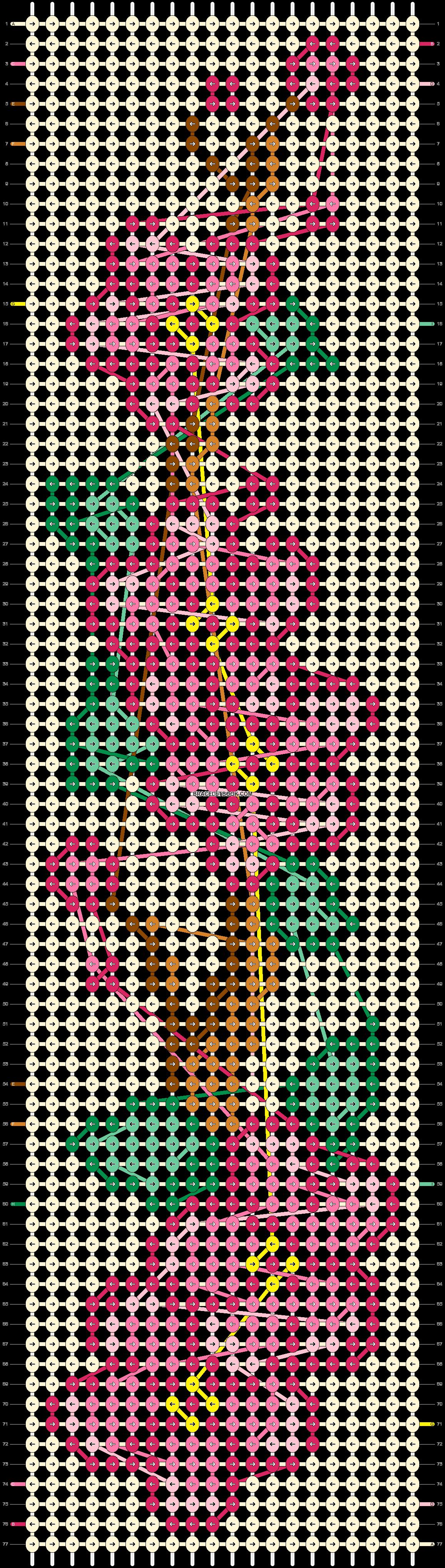 Alpha pattern #99018 pattern